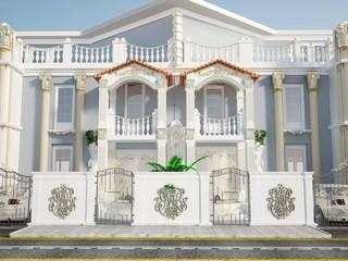 Altuncu İç Mimari Dekorasyon – KATAR VİLLA TASARIM PROJESİ 2:  tarz Evler