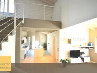 Living room by STUDIO RANDETTI - PROGETTAZIONE E DESIGN, Modern