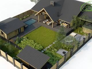 Дом на Сиреневом бульваре: Дома в . Автор – Компания архитекторов Латышевых 'Мечты сбываются'