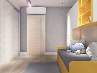 Nursery/kid's room by Your royal design, Minimalist