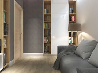 Study/office by Your royal design, Minimalist