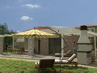 Terrazas de estilo  por Gülşahin,