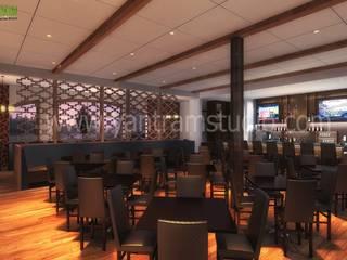 Interior 3D-Rendering CGI Design- Bares y clubs de estilo clásico de YANTRAM ANIMACIÓN Clásico