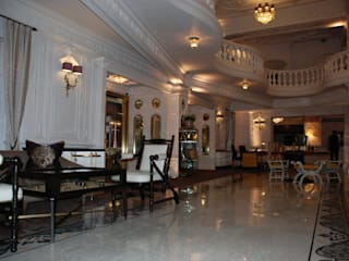 St Ermins Hotel London Classical Chandeliers Classic style corridor, hallway and stairs
