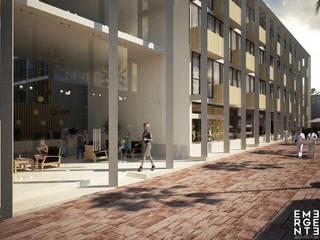 HOTEL VISTA CARIBE: Hoteles de estilo  por EMERGENTE | Arquitectura, Minimalista