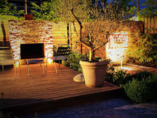 Achtertuin Maastricht: moderne Tuin door Guy Wolfs Hoveniersbedrijf