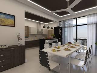 Dining area:   by Ghar360