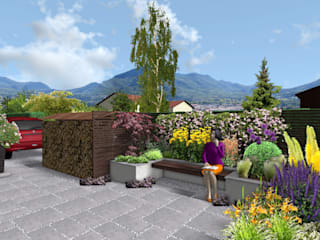 Terrace by Anthemis Bureau d'Etude Paysage