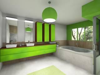 Aménagement salle de bain par AeA - Architecture Eric Agro Moderne