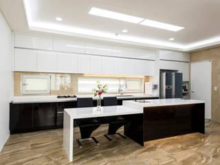 친친디 연수리 컨셉하우스: 친친디 하우스 프로젝트의  주방
