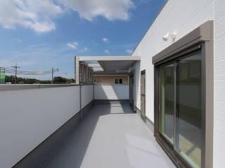 GARDEN HOUSE: 松井設計が手掛けたテラス・ベランダです。