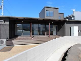 TERRACE HOUSE: 松井設計が手掛けた家です。