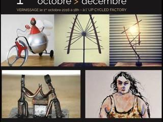 Expositions Temporaires! récup-éclaire (Thibaut Richard) Centre d'expositions originaux