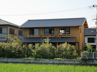 Asian style house by 虎設計工房 Asian