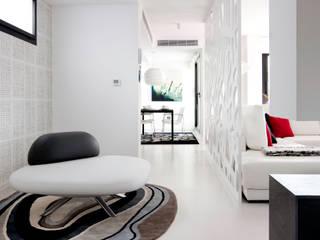 ห้องโถงทางเดินและบันไดสมัยใหม่ โดย Bou Interiorismo โมเดิร์น