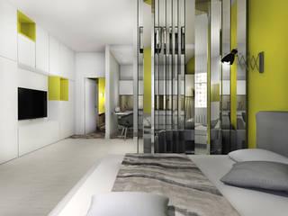 project yellow:  Living room by дизайн интерьера Рина Васильева