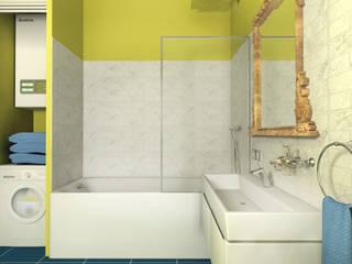 project yellow:  Bathroom by дизайн интерьера Рина Васильева