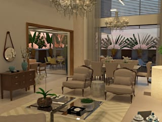 THEROOM ARQUITETURA E DESIGN Living room