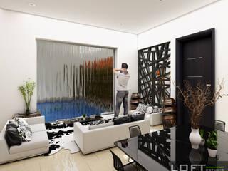 Salas modernas de LOFT ESTUDIO arquitectura y diseño Moderno