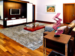 THEROOM ARQUITETURA E DESIGN Modern media room