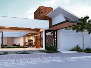 THEROOM ARQUITETURA E DESIGN Modern houses