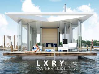 Eco Ville #02 Moderne huizen van LXRY Watervillas Modern