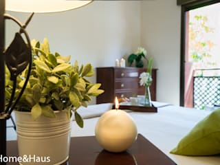 Home & Haus | Home Staging & Fotografía ห้องนอน Beige