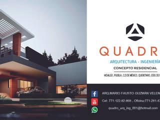 Moderne Hotels von QUADRO ARQUITECTURA INGENIERA Modern