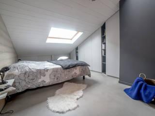 Rénovation d'une chambre parentale: Chambre de style  par DLS Création