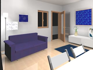 Salon de style  par mydesign.vm, Moderne