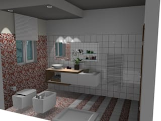 Bagno BG: Bagno in stile  di Creativity Design