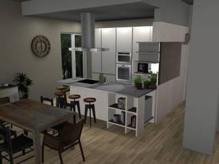 Casa Gorgonzola: Cucina in stile  di Creativity Design