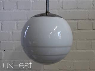 """""""ROSA M"""" Bauhaus Design Pendel Lampe Opal Glas Vintage:  Gastronomie von Lux-Est"""