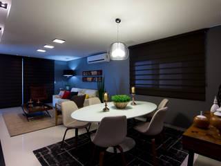 Comedores de estilo  por Carla Almeida Arquitetura, Moderno