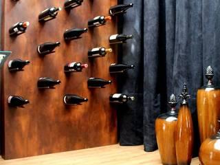Studio² Modern wine cellar Iron/Steel Metallic/Silver