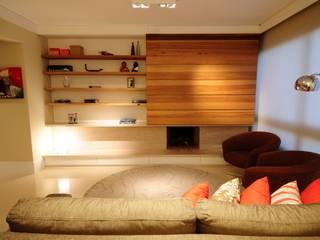 Modern living room by João Linck | Arquitetura Modern