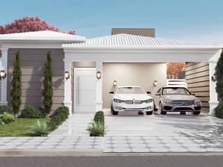 Residência L & C Casas clássicas por Celis Bender Arquitetura e Interiores Clássico