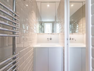 Modern flat – Loft Extension and Renovation, Fulham, SW6 TOTUS Modern style bathrooms