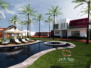 Prototipo Arquitectos 泳池