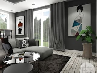 Modern living room by ASA studio Modern