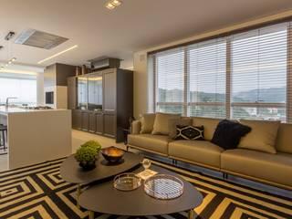 Salas / recibidores de estilo moderno por Spengler Decor