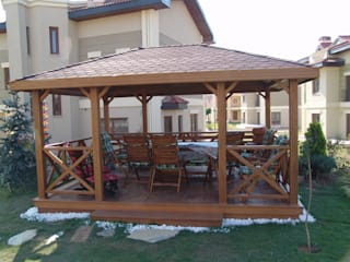 İNDEKS YAPI TASARIM Country style gardens Wood Wood effect