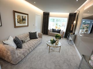 Adding those finishing touches to your home... Modern living room by Graeme Fuller Design Ltd Modern