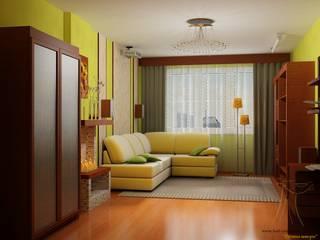 Шторы для гостинной:  в . Автор – Лучшие шторы