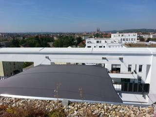 derraumhoch3 Modern Balkon, Veranda & Teras