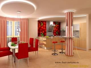 Шторы для кухни и столовой:  в . Автор – Лучшие шторы