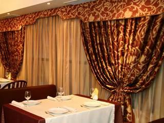 Шторы для кафе и ресторана от Лучшие шторы