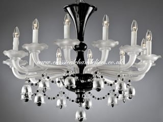 Black Contemporary Chandeliers Classical Chandeliers Cocinas de estilo moderno
