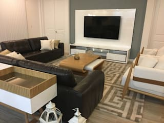 Sala de Estar - Residencia Calistoga por Laura Picoli Moderno