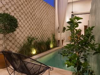 Casa del Limonero Albercas modernas de Taller Estilo Arquitectura Moderno Concreto